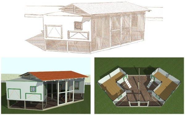 large chicken coop plans pdf